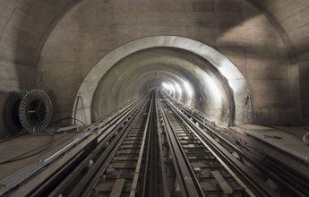 Neuer Metrotunnel in Lausanne